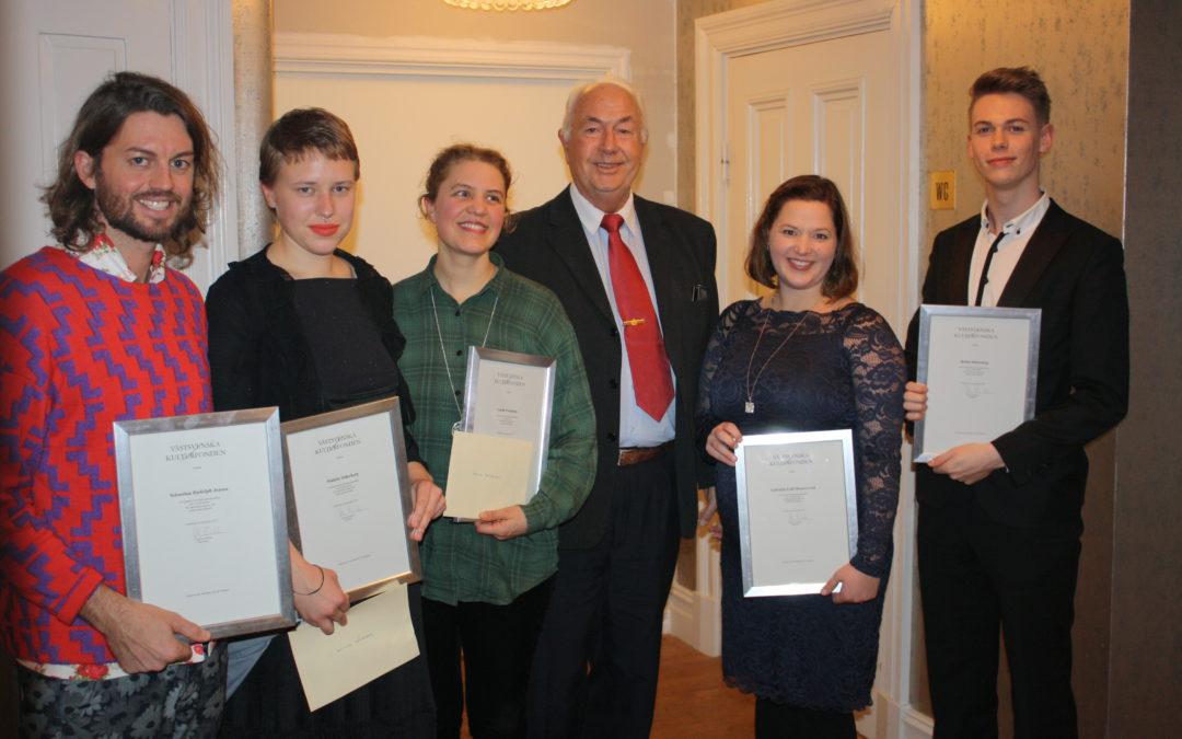 2015 års stipendiater
